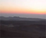 Negev Desert at Sunset