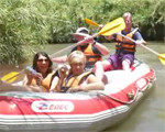 Rafting the Jordan River